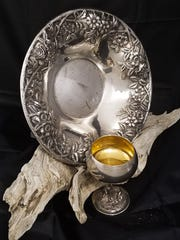 Delicately worked silver like these can be difficult to polish by hand.