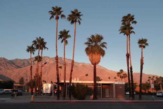 The former Boxing Club in Palm Springs is located on El Cielo Road across from the Palm Springs International Airport.