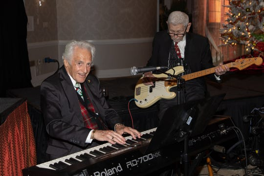 Bill Marx and Tibor Lesko were among the evening's entertainers.