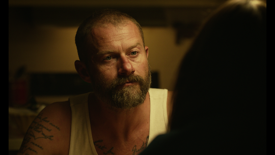 James Badge Dale as Hank Peck in 'Mickey and the Bear.'