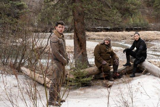 "Nick Jonas, Jack Black and Awkwafina star in ""Jumanji: The Next Level."""