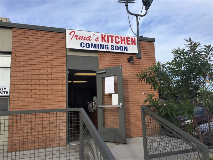 Mexican restaurant Irma's Kitchen relocated to 1614 W. Roosevelt Street, Phoenix.