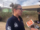 Phoenix fire Capt. Nicole Minnick addresses the media about a small airplane crash Wednesday, Dec. 11, 2019, near 23rd Avenue and Deer Valley Road.