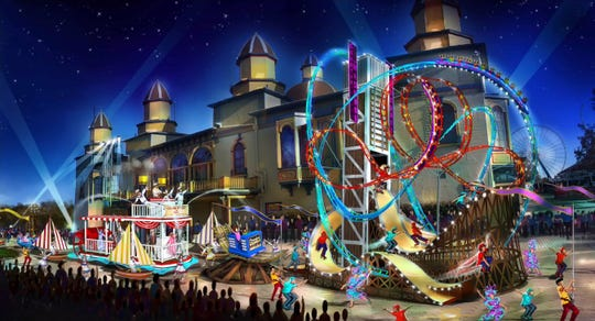"""The """"Celebrate 150 Spectacular"""" is a new live parade attraction offered at Cedar Point from June 12 through Aug. 16."""