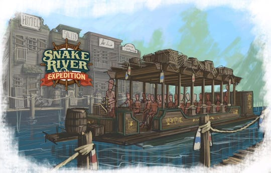 Snake River Expedition, Cedar Point's new boat ride open to everyone, will offer just that as it is described as an interactive adventure for riders, featuring live actors and a story.