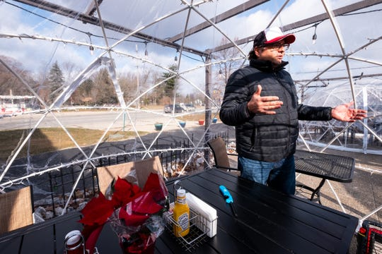 Louie Telegadas, owner of Four Star Grille in Marysville, in a December file photo. Four Star Grille is one of the restaurants that are still open in the Blue Water Area during the COVID-19 pandemic.