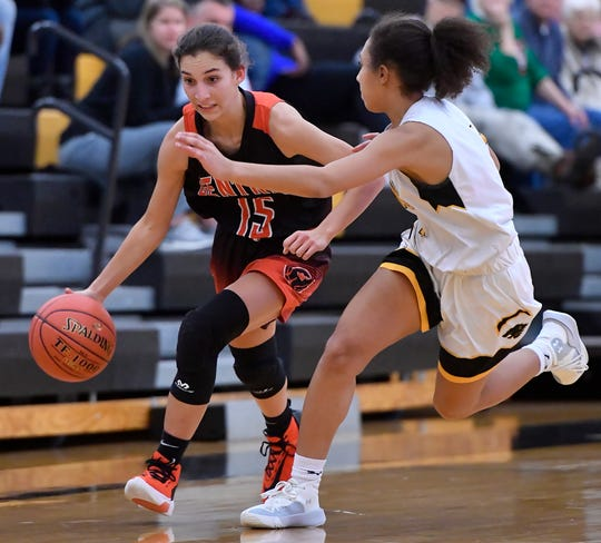 Central York at Red Lion girls' basketball, Tuesday, December 10, 2019.