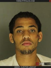 According to police, they investigated an incident involving Clinton Grant III and his girlfriend Nov. 1 just after 9 a.m. at a locationin the 800 block of Wallace Street.