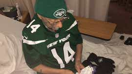 York hospice patient gets final wish from NFL teams