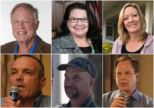 Several candidates, including some not in this photo, are running for Shasta County Board of Supervisors seats in March of 2020.