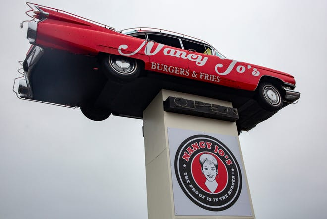 The new Nancy Jo's Burgers location on Market Street in Northeast Salem on Dec. 11.