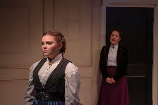 Sidney Alexander (Emmy) and Erika Nadir (Nora)