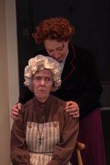 Julie Bloodworth (Anne Marie) and Erika Nadir (Nora)