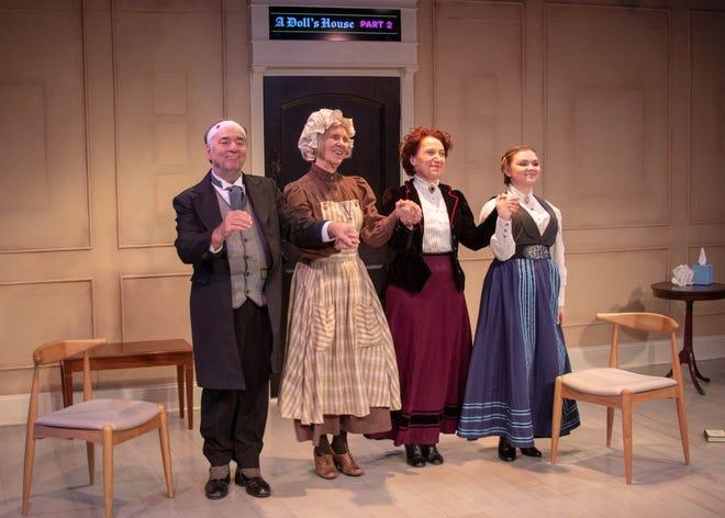 The Company: George Cron, Julie Bloodworth, Erika Nadir, Sidney Alexander