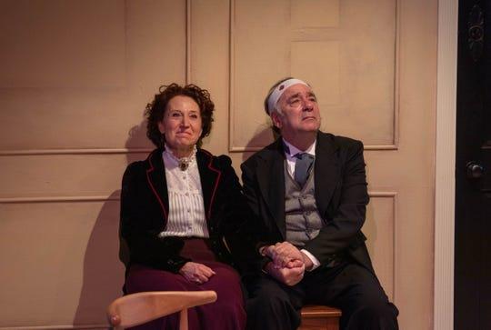 Erika Nadir (Nora) and George Cron (Torvald)