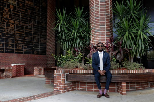 Emmanuel Dawson will graduate from Florida A&M University this weekend with a degree in supply chain management. He gained notoriety four years ago when he amassed more than $1-million in scholarship offers and chose to attend FAMU.