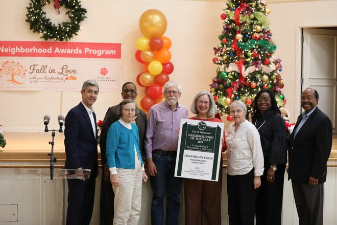 The award for Large Neighborhood of the Year (more than 200 homes) was a tie between Indianhead Lehigh Neighborhood Association and Betton Hills Neighborhood Association.