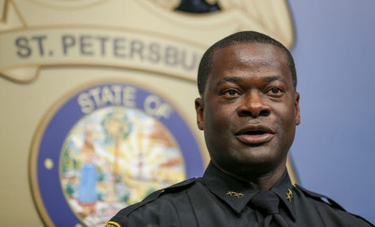 New Tallahassee Police Chief Antonio Gilliam