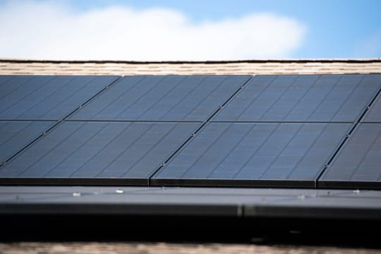 Treasure Coast Solar Co-op co-founder Jerry Buechler receives zeroes on his Florida Power & Light bills after installing an 8.4 kilowatt solar panel system on the roof of his Port St. Lucie home. Buehler anticipates the panels, warrantied for 30 years by Riviera Beach manufacturer SolarTech Universal, will pay themselves off in six or seven years.
