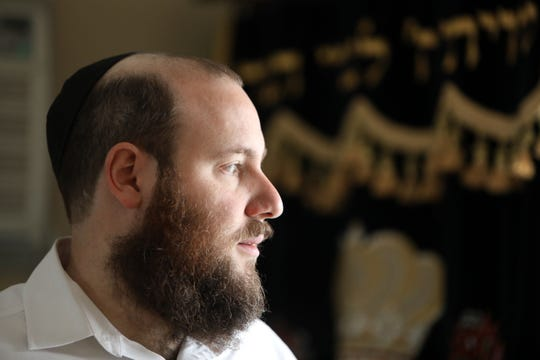 Rabbi Shmuel Gancz of the Chabad Jewish Center of Suffern reacts to Tuesday's shooting in Jersey City that targeted the Jewish community, Dec. 11, 2019. Gancz said his biggest fear is that such violence could happen in Rockland, where the Jewish community is much stronger and influential than in Jersey City.