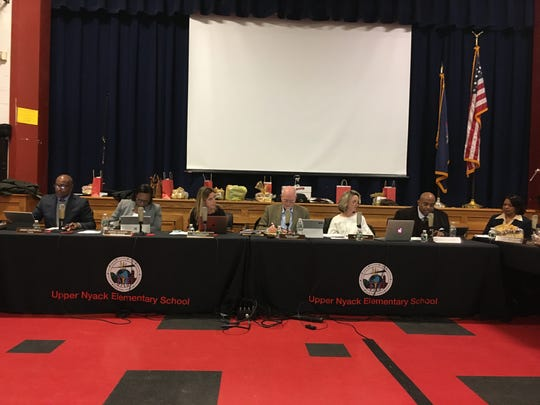 Nyack Board of Education meets at Upper Nyack Elementary School on Dec. 10, 2019