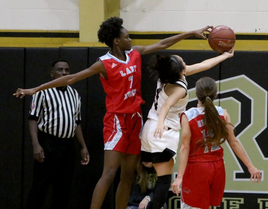 HIrschi's Niara Hightower was an elite rebounder and shot blocker, earning a Red River 22 nomination.