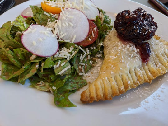 Pick two of the Monte Cristo and house salad at Karat Bar and Bistro.