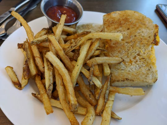 Grilled cheese and fries at Karat Bar and Bistro.