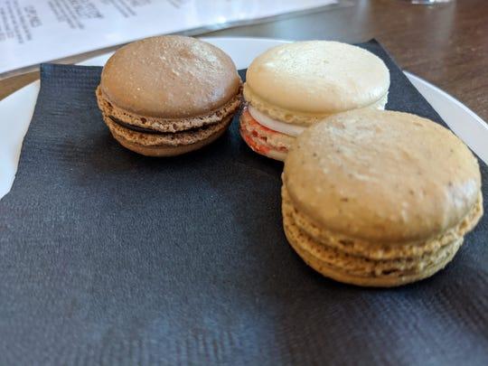 Macarons at Karat Bar and Bistro.