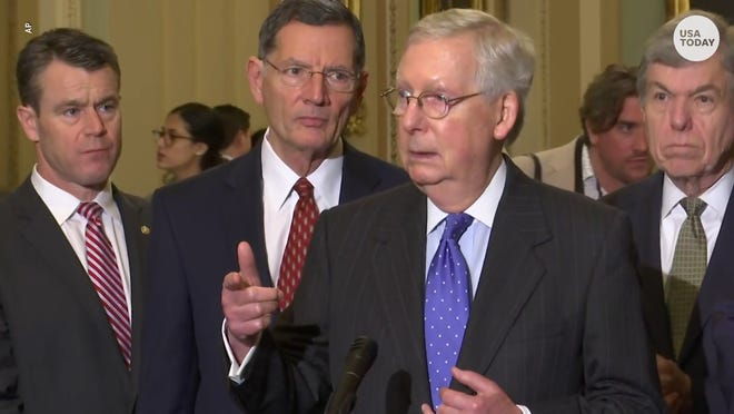 McConnell says USMCA on hold until after impeachment trial
