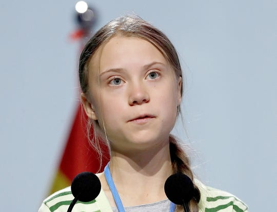 Greta Thunberg, Time magazine's Person of the Year