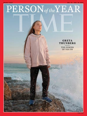 Greta Thunberg, elegida 'Persona del Año' por la revista Time.