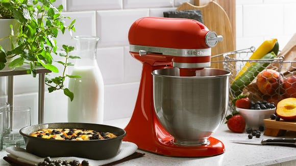 The KitchenAid Artisan Mini is the perfect size for smaller kitchens.