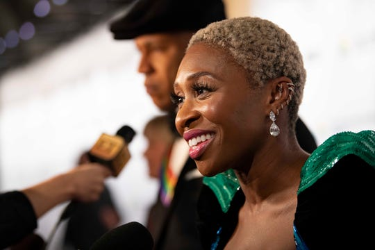 Cynthia Erivo also attended.