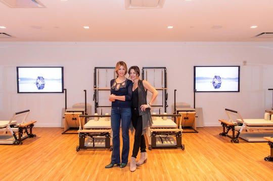 Joelle Buccellato, L, and Danielle Buccellato, R