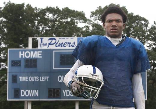 Lakewood's Tyrice Beverette was a two-say standout for the Piners on the football field, while leading them to a Shore Conference championship on the basketball court.