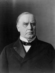 President William McKinley.