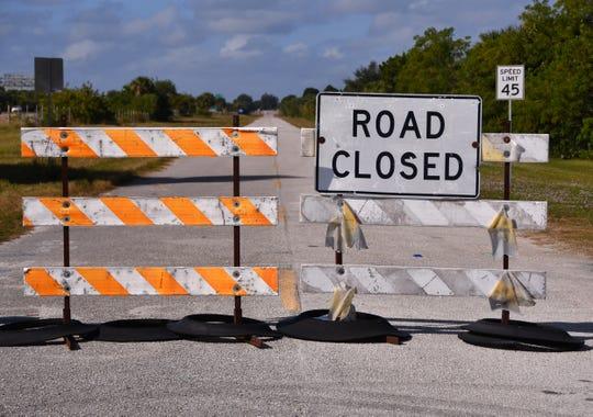 The Sykes Creek Bridge over Sea Ray Drive on Merritt Island has been closed since September 2017.