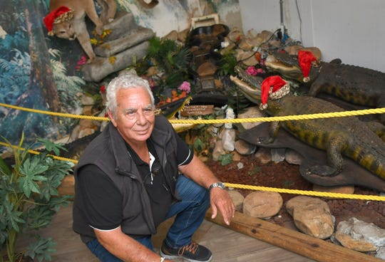 Kobi Kagan, owner of Jungle Adventures, A Real Florida Animal Park, located on East Colonial Drive in Christmas, a few miles west of the Brevard County line.