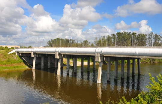 The county will spend nearly $5 million to replace the Sykes Creek Bridge over Sea Ray Drive on Merritt Island. The bridge was damaged during Hurricane Irma in 2017.