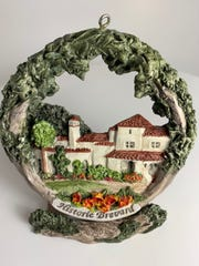 The main building of Florida Preparatory Academy, built as a private residence in 1924, will be featured on this year's Zonta Club of Melbourne ornament.