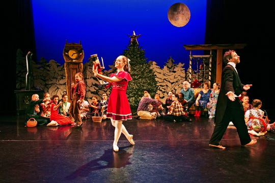 "Moving Light Dance Company returns Dec. 21-22 with ""Green Mountain Nutcracker"" in Barre."