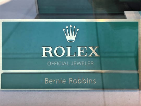 Authorities allege a  Staten Island man bought a $52,000 Rolex watch at an Evesham jewelry store with a worthless check, then tried to buy more.