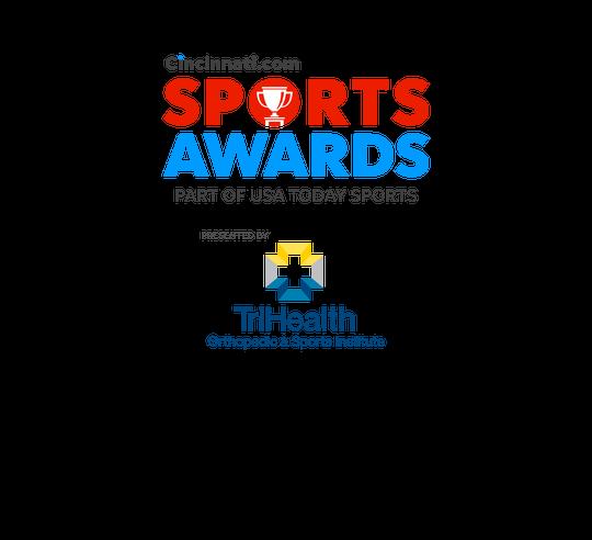 Cincinnati.com Sports Awards, present by TriHealth Orthopedic & Sports Institute.