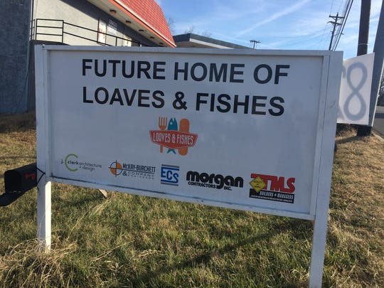 Construction is getting under way on the new Loaves and Fishes facility in Clarksville.