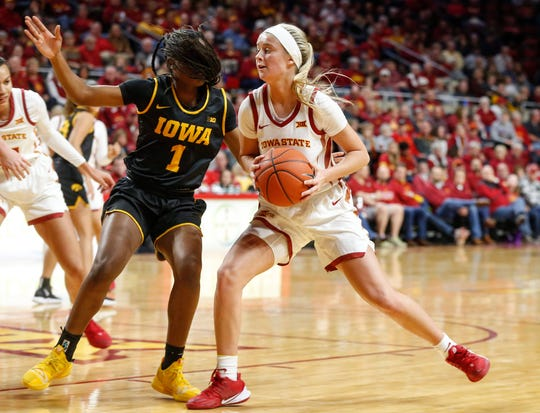 Maggie Espenmiller-McGraw has had a strong first season at Iowa State.
