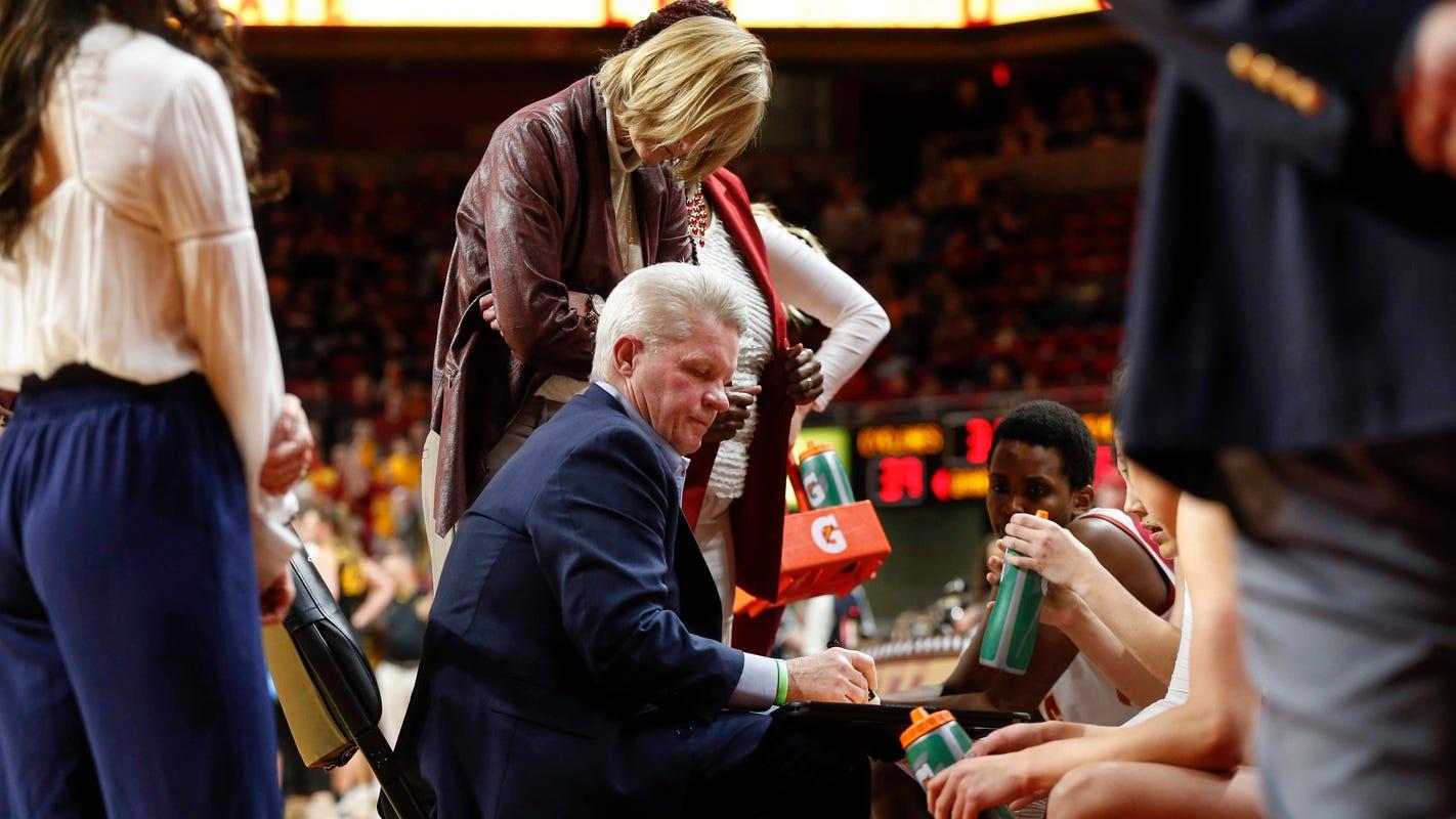 Iowa State women lose third straight Big 12 game