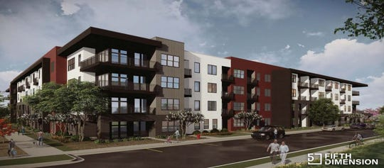 A 185-unit apartment building in Davenport called The Yard is eligible for workforce housing tax credits to be used to bring affordable housing to flood-affected areas.