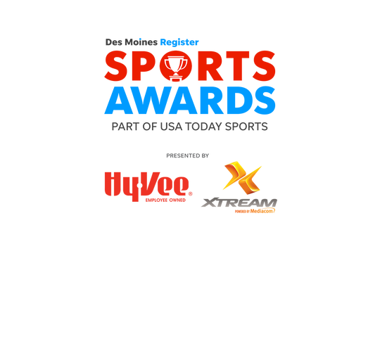 The 2020 Des Moines Register Sports Awards will be held June 12, 2020 in Des Moines.