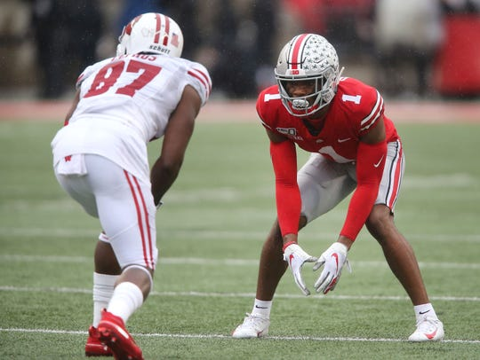 Ohio State cornerback Jeff Okudah could be an option for the Lions with the No. 3 pick.